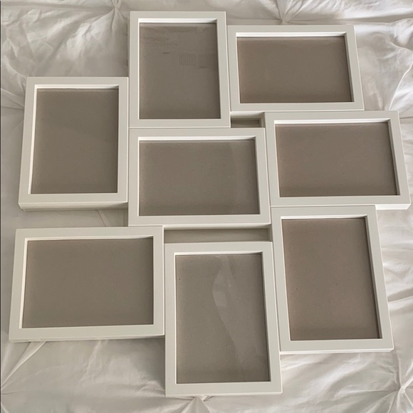 NEVER USED: 2 WHITE IKEA PICTURE FRAMES